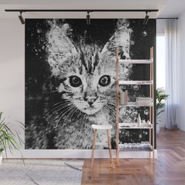 cat years wsbw Wall Mural