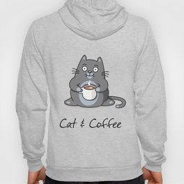 Cat & coffee Hoody