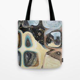 ABSTRACT RETRO MID CENTURY MODERN geometric pattern art Tote Bag
