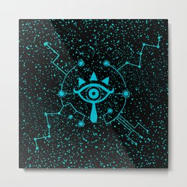 Sheikah Tech Metal Print