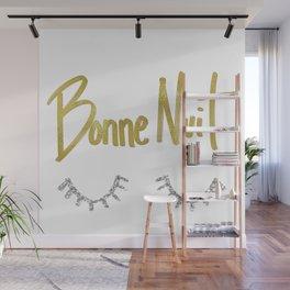Bonne Nuit Wall Mural