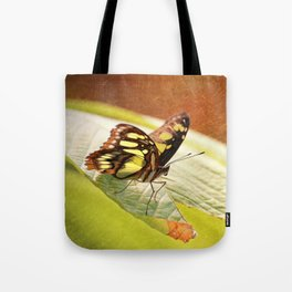 Butterfly - Ready for takeoff Tote Bag
