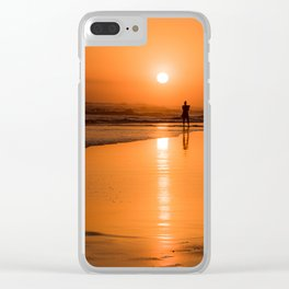 Goddess of the Sun Clear iPhone Case