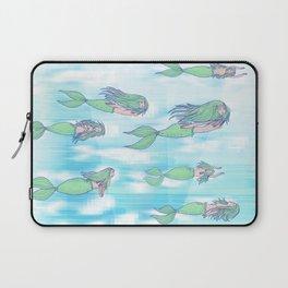 Mermaid migration Laptop Sleeve