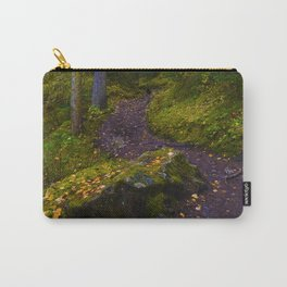 Walking along the Berg Lake Trail in Fall Carry-All Pouch