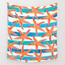 Starfish Tropics Wall Tapestry