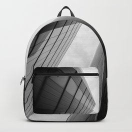 Modern Buildings London Finance Abstract Backpack