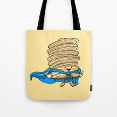 Captain Pancake Descends Tote Bag