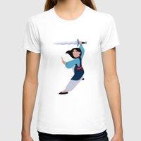 mulan T-shirts featuring MULAN by Danielle Ebro