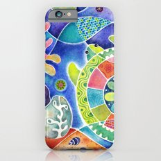 Sea Turtle Abstract iPhone 6s Slim Case