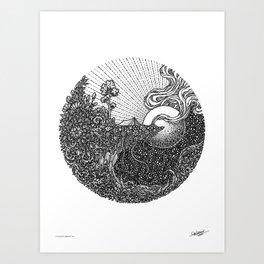 HANG-OUT - Visothkakvei Art Print