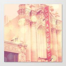 Los Angeles Theatre photograph Canvas Print