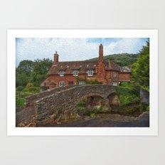 English Rural Scene Art Print