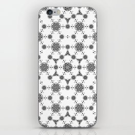 ancient sacred geomertry. seamless pattern. flower of life iPhone Skin