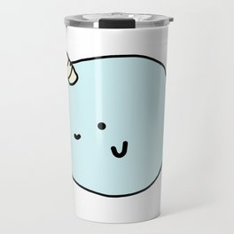 Fun and Cute Narwhal Travel Mug