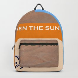 When the sun Backpack