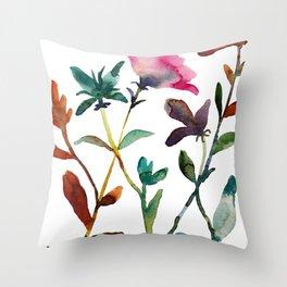 Garden Play 2 Throw Pillow