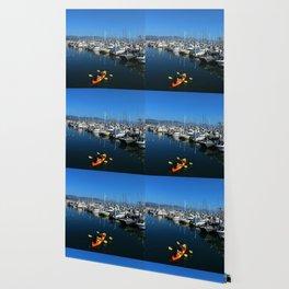 Pillar Piont Harbor at Half Moon Bay Wallpaper