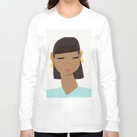 egypt Long Sleeve T-shirts featuring Egypt by TatyMolanphy