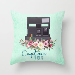 Capture moments #3 Throw Pillow