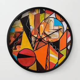 City Stories Wall Clock