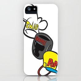 Snap Grapple & Pop iPhone Case