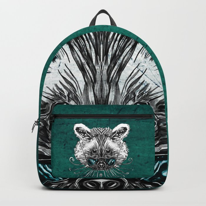 Cool Raccoon Backpack