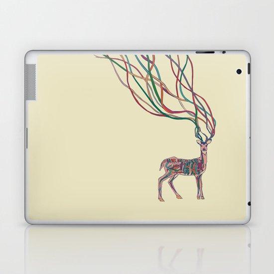 Deer Ribbons Laptop & iPad Skin