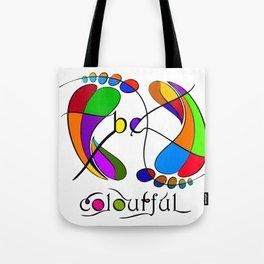 Trapsanella - be colourful Tote Bag