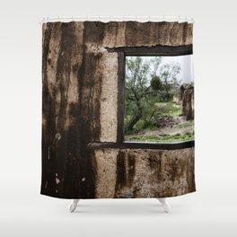 Mi viejo lugar Shower Curtain