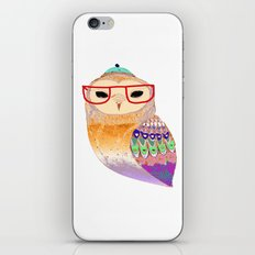 Pretty Awesome owl iPhone & iPod Skin