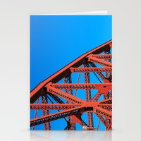 broadway Stationery Cards featuring Broadway Bridge by Cameron Booth