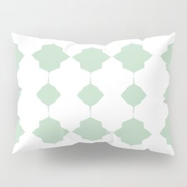 Minty_Geo_Love_ Pillow Sham