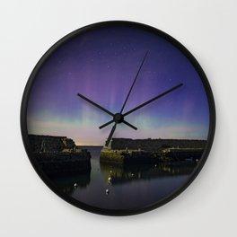 Lanescove Moonlight Aurora Wall Clock