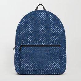 LOTS OF DOTS / indigo blue / linen beige / light blue Backpack