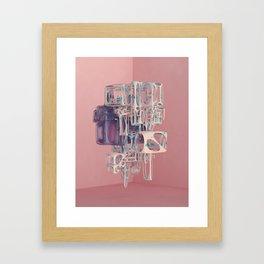 WEIRDDD Framed Art Print