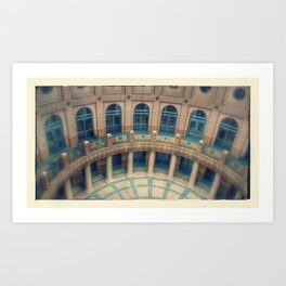 The Capital Building in Austin, Texas Art Print