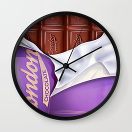 Chocolate bar Wall Clock