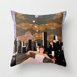 Denber Lady ver.1 Throw Pillow