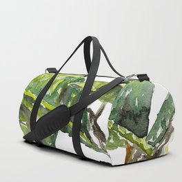 Ficus Leaves Duffle Bag