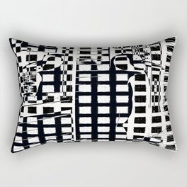 Penguin Assassin. Rectangular Pillow