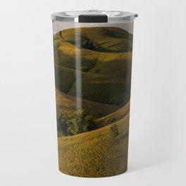 Rolling green Fairytale Hills English Countryside Landscape Travel Mug