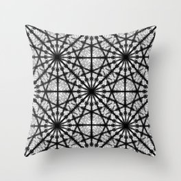 Repeating Signals Throw Pillow