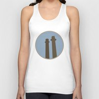 montreal Tank Tops featuring Montreal Inspired by Vincent Arnaud