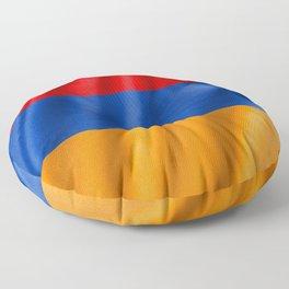 Armenia Flag Floor Pillow