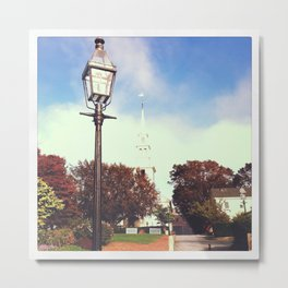 Queen Anne Square Metal Print