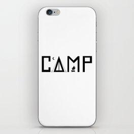 Camp iPhone Skin