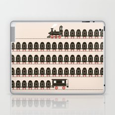 Stretched Out Locomotive  Laptop & iPad Skin