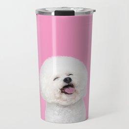 Laughing Puppy Travel Mug