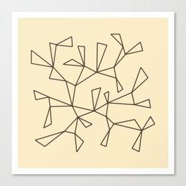 Triangles 1 Canvas Print